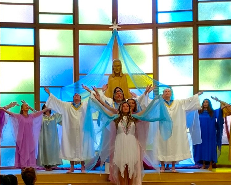 Angels Who Bless us in our House of Worship